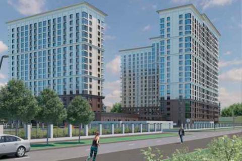 Визуализация жилого комплекса, Москва