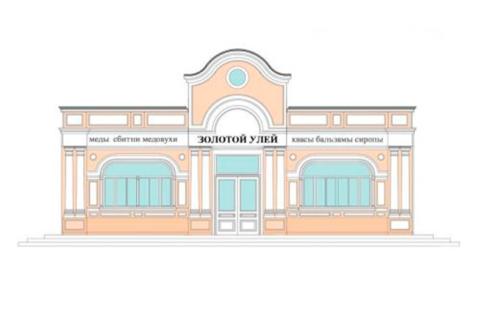 Фасады магазина Золотой улей