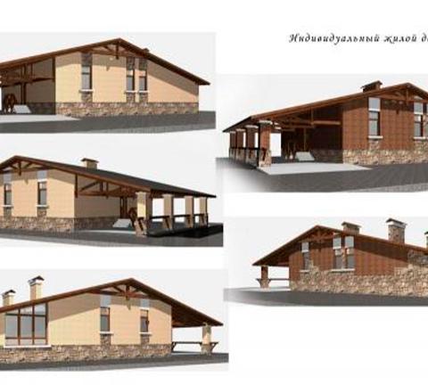 Проект дома, Зарайский район