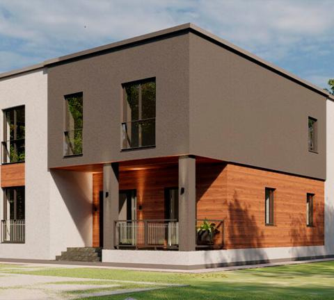 Проект дома 21, Коломна
